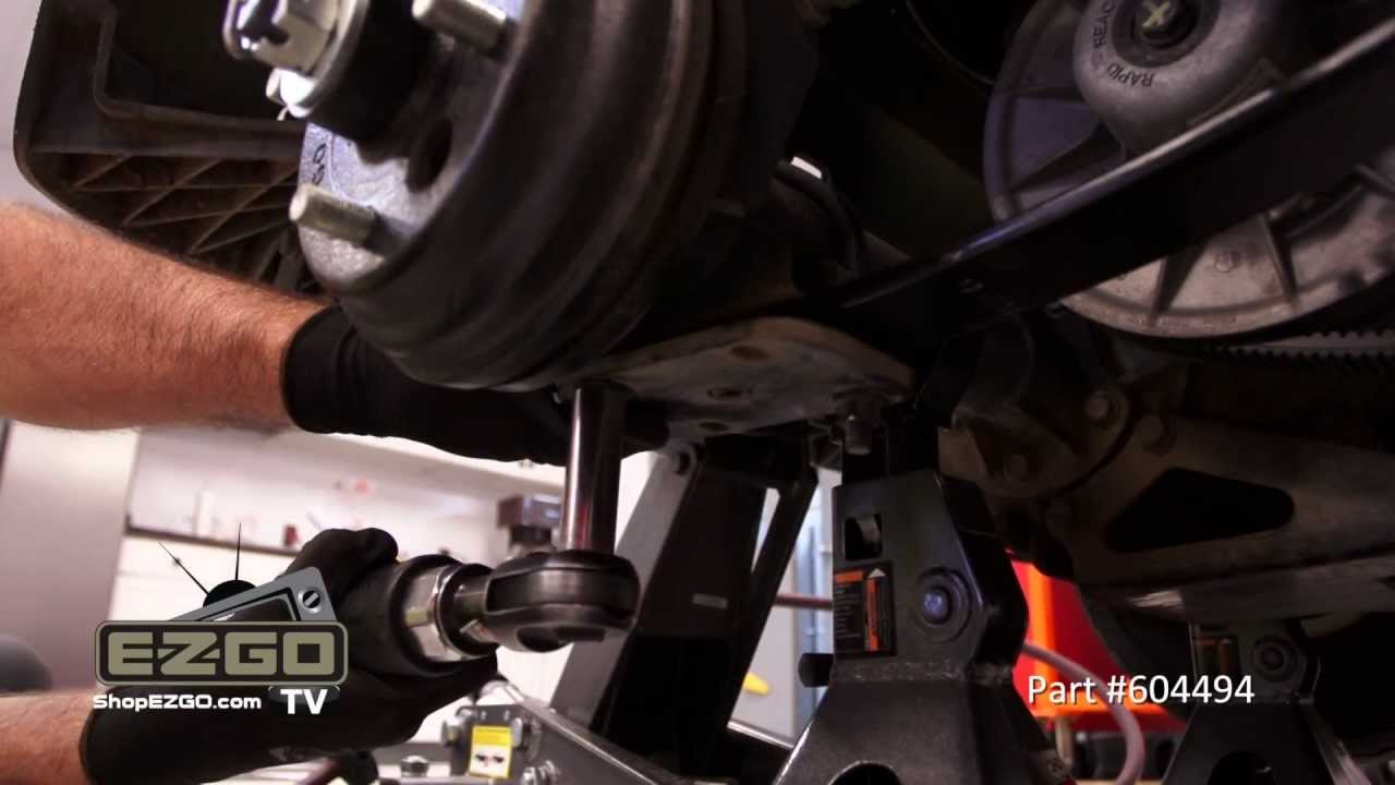 e z go rxv golf cart heavy duty leaf springs how to install golf cart parts e z go tv youtube [ 1280 x 720 Pixel ]