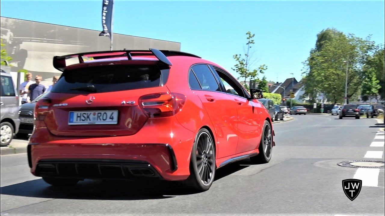 Download Mercedes-Benz A45 AMG SOUNDS! Launch Control, Downshifts & More Exhaust Sounds!