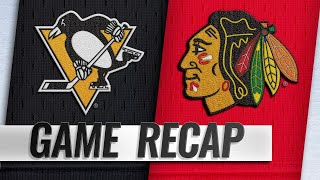 Blackhawks snap losing streak with 6-3 victory