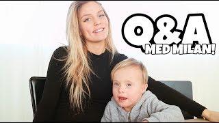 FRÅGESTUND | Vad tycker Milan bebisen ska heta?