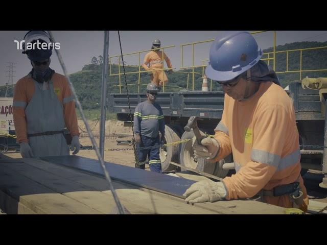Acompanhamento das obras do Contorno de Florianópolis_Fevereiro 2020