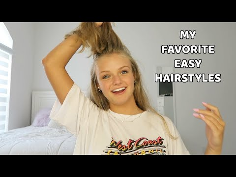 Easy Back To School Hairstyles & How I Curl My Hair ~ Jacy And Kacy