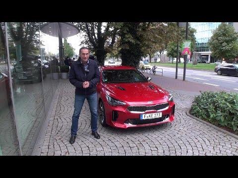 KIA Stinger GT премьерный тест Автопанорамы