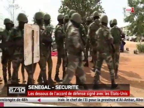 SENEGAL - SECURITE/Les dessous de l'accord de défense signé avec les Etats-Unis