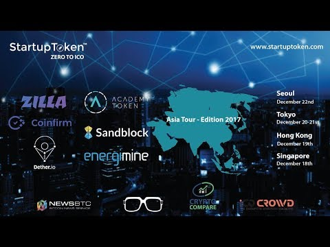 StartupToken Asia Tour 2017 - Singapore December Edition