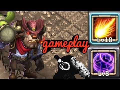 Iron Will | Mino | Gameplay | Dungeons | Raiding | Castle Clash