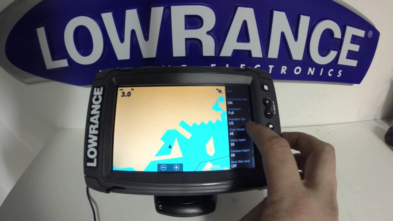 lowrance elite 7 ti pt 4 gps setup [ 1280 x 720 Pixel ]