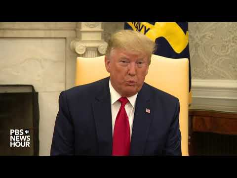 WATCH: Trump meets with the leader of Qatar