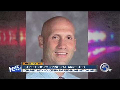 Streetsboro principal charged with attempting sexually explicit conversation with 13-year-old