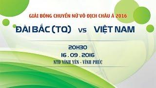 dai bac tq vs viet nam - cup chau a 2016  full