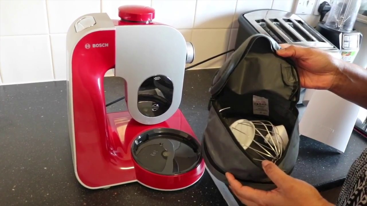 Bosch Mum58720gb Creationline Kitchen Machine Review Youtube