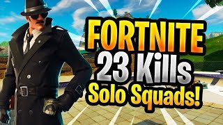 23 KILLS SOLO vs SQUADS - 30 Bomb Fail! | Fortnite Battle Royale Gameplay (Deutsch)