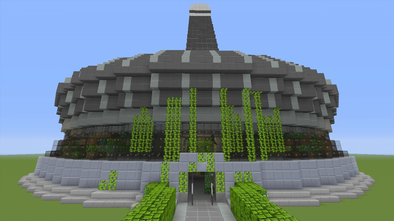 how to build star labs from the flash in minecraft