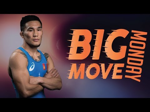 Big Move Monday -- TUMENBILEG (MGL) -- 2018 Senior World C'ships