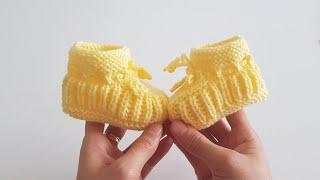 Kolay Bebek Patik Yapımı