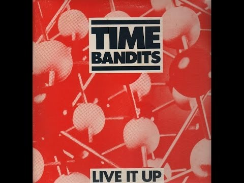 Time Bandits - 'Live It Up'; drum-cover / remix by Willem van Maanen.