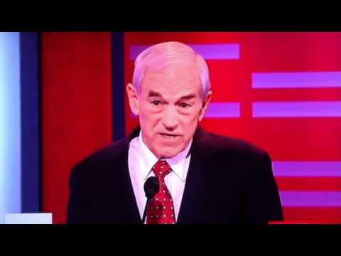 Ron Paul On Palestine Etc ABC Debate 12/10/11