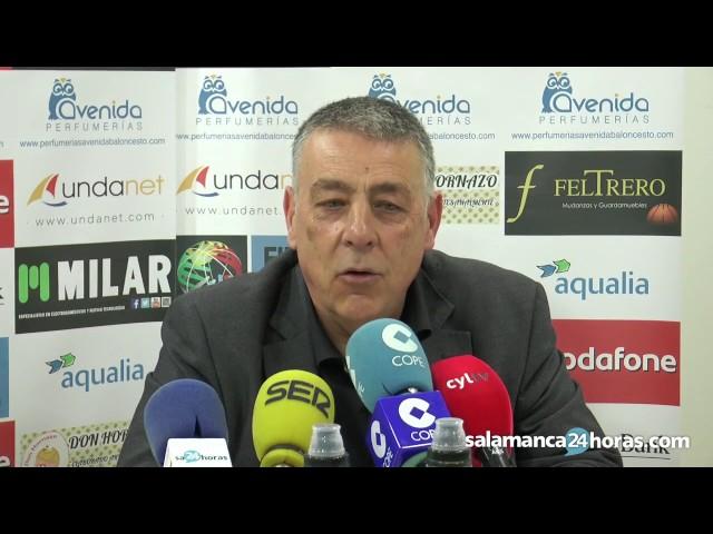 Rueda de prensa tras el Avenida - Girona