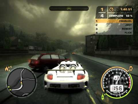 Need for speed mostwanted porsche carrera gt sprint for Nefor espid mosguante