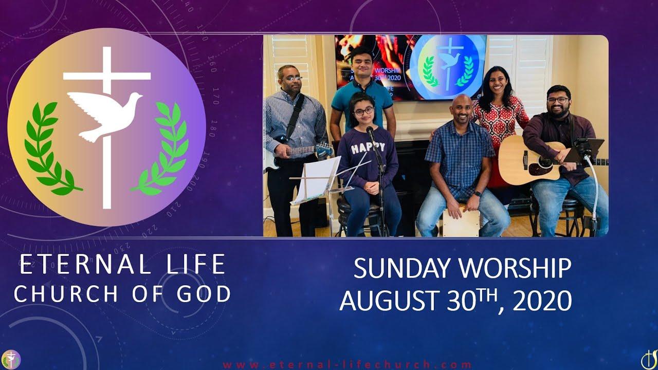 Worship Set - Sunday 8/30/2020