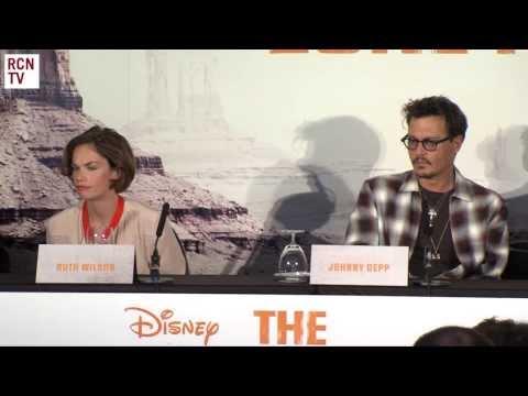 The Lone Ranger Premiere Press Conference
