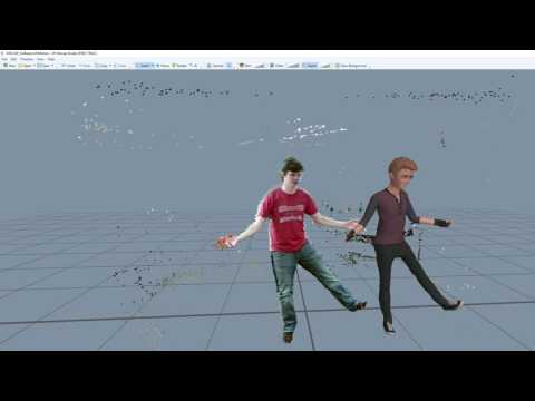 Motion Capture and Skeletal Animation with Kinect V2