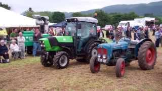 Narrow Tractors Vintage Agricultural Machinery Club Rally Strathmiglo Fife Scotland