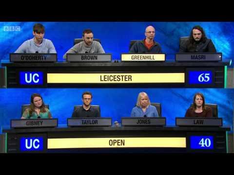 University Challenge S44E09 Leicester vs Open University