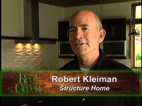Real Green TV featuring Structure Home and Green Builder Media's VISION House LA