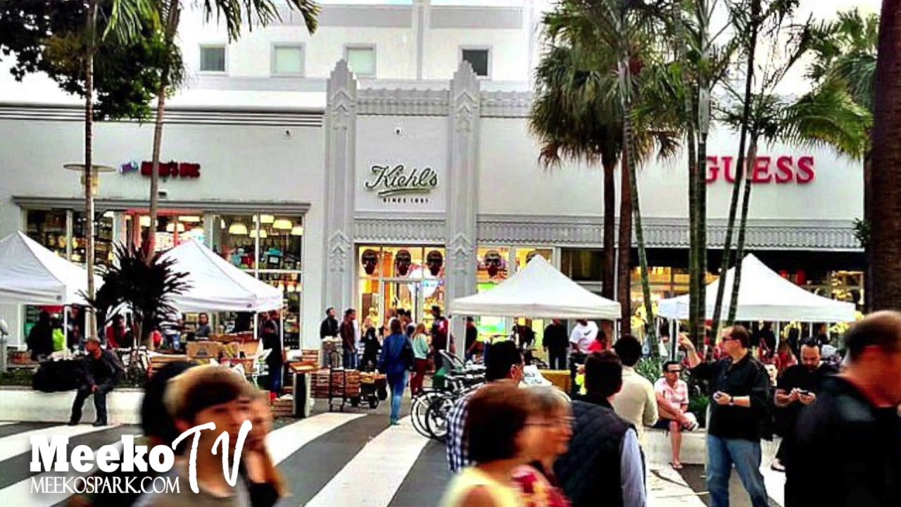 Lincoln Road Mall Top Places In Miami Florida