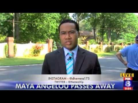 R.I.P MAYA ANGELOU DIES AT 86, POET