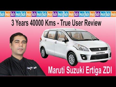 Maruti Suzuki Ertiga ZDI Diesel - 3 Years 40000 Kms True User Review