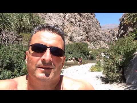 Beach Trip Crete - Preveli Beach, Palm Beach, Plakias - Best Beaches, Crete