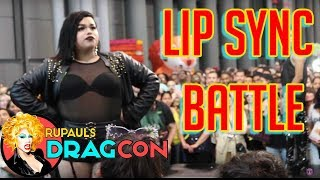 LIP SYNC BATTLE at Rupaul's Drag Con NYC