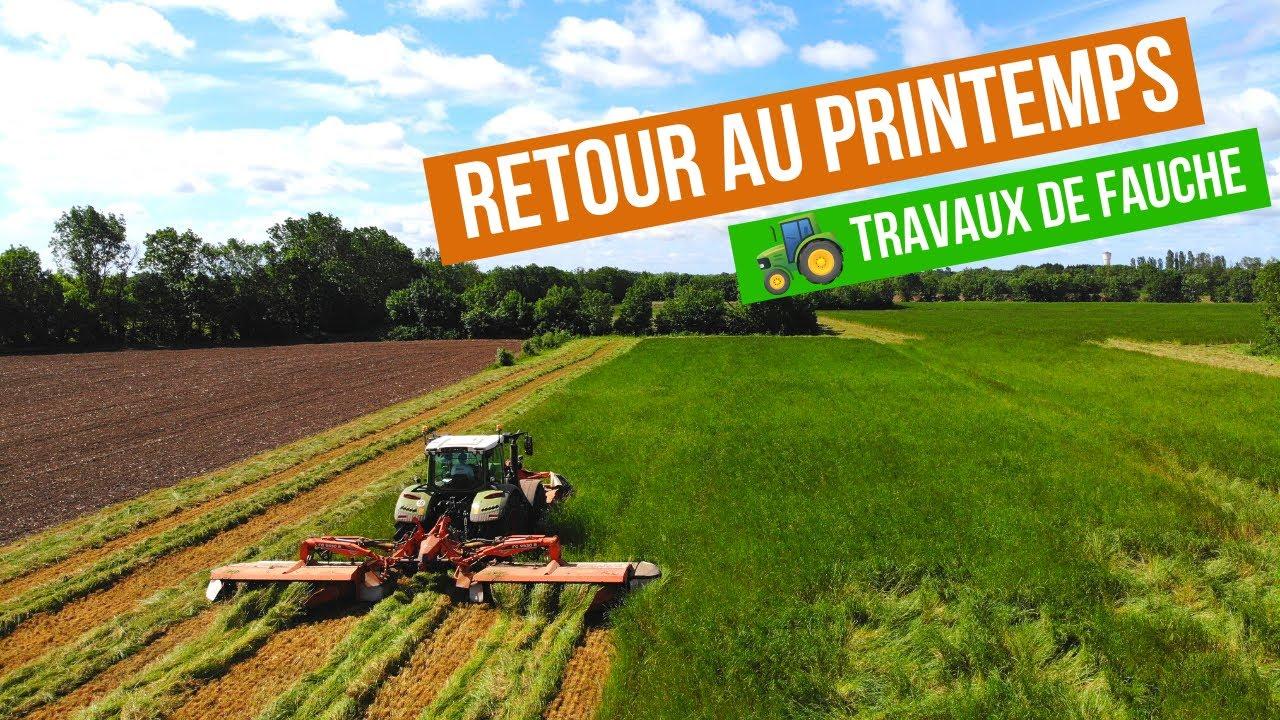 Retour Sur La Fauche Avant Ensilage - Ça Dépote !!