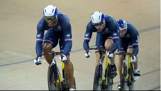 mens team sprint finals 2015 uci track cycling world championships