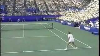 [HL] Monica Seles vs. Jennifer Capriati 1991 US Open [SF]