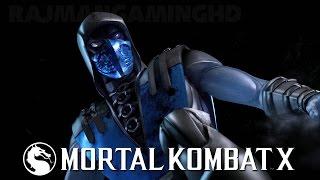 Mortal Kombat X - Blue Steel Sub-Zero Gameplay (60fps) [1080p] TRUE-HD QUALITY