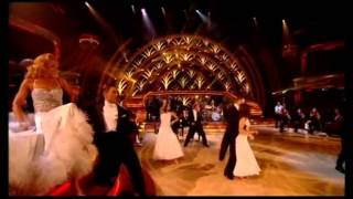 Robbie Williams-Putting on the ritz-BBC strictly come dancing.