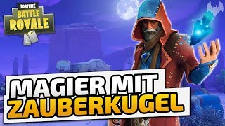 Magier mit Zauberkugel - ♠ Fortnite Battle Royale ♠ - Deutsch German - Dhalucard