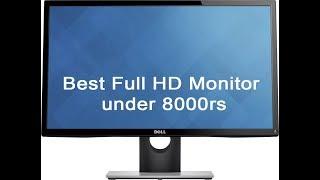 "Best Full HD Monitor under 8000rs | Dell E2218HN | Dell 21.5"" 1080p IPS LED monitor"