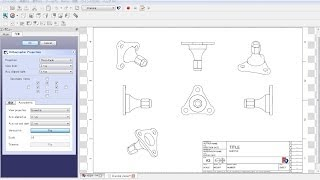Freecad Mechanical Drawing H22a-2