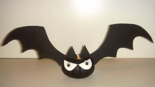 CRAFT - How to Make Halloween Bat-O