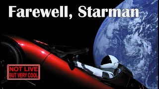 🚀SpaceX Starman's Cosmic Journey: 24/7 Relaxing ChillStep/Ambient Music