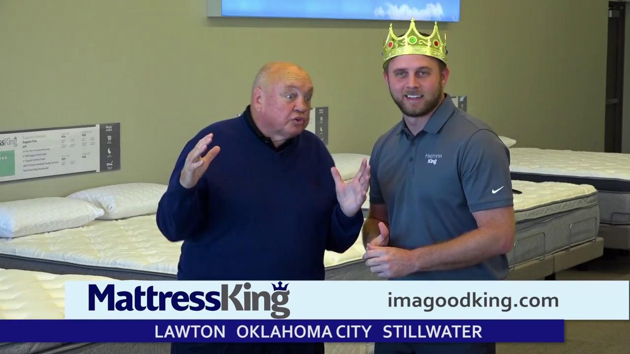 We Got Em At Mattress King Oklahoma