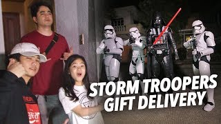 Download lagu STORM TROOPERS GIFT DELIVERY PRANK!!  | Ranz and Niana