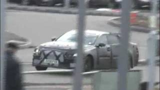 Jaguar XJ Spy Video by InsideLine.com