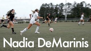 Nadia DeMarinis 2021 Defender Soccer Highlight