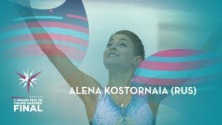Alena Kostornaia RUS Ladies Short Program ISU GP Finals 2019 Turin GPFigure