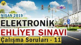 NİSAN 2019 ELEKTRONİK Ehliyet Sınav SORULARI ve CEVAPLARI - 11
